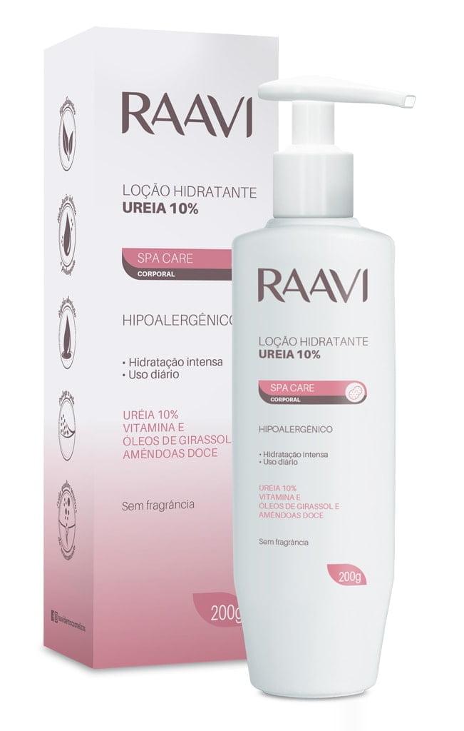 Locao Hidratante Raavi 220g Ureia 10%