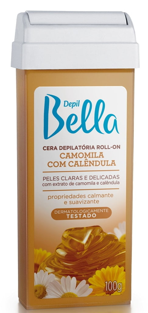 Cera Depil Bella Roll-on 100g Mel