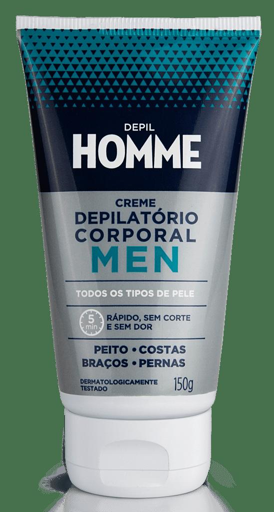 Creme Depilatorio Masculino Depil Bella 150g Homme