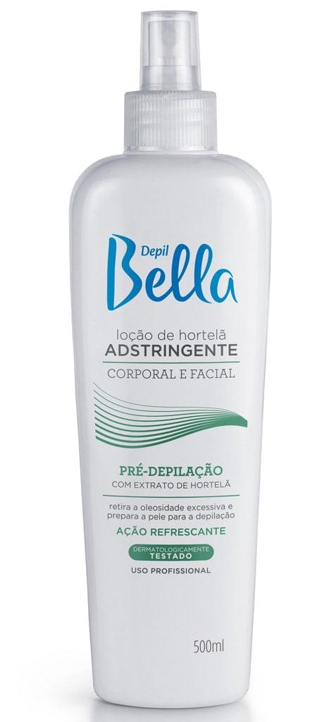 Loção Adstringente Depil Bella 500ml Hortelã
