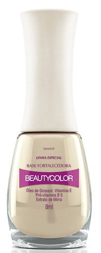 Base para unhas Beauty Color Fortalecedora