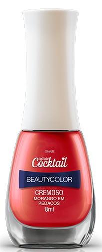 Esmalte Beauty Color Cocktail Morango em Pedaços