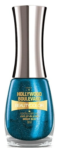 Esmalte BeautyColor Hollywood Boulevard Bright Blue