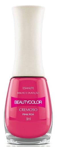 Esmalte Beauty Color Pink Poá