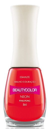 Esmalte Beauty Color Pink Pong