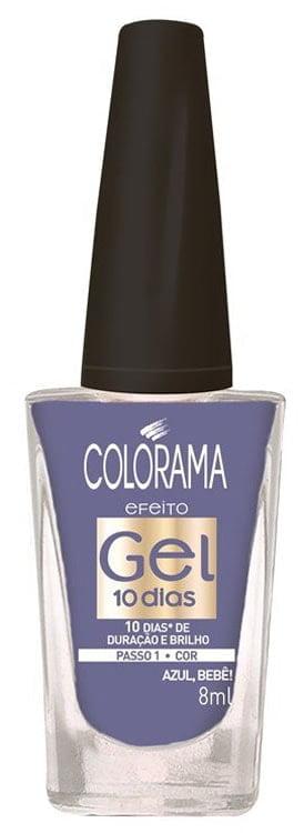 Esmalte Colorama Gel 10 dias Azul Bebe
