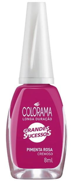 Esmalte Colorama Grandes Sucessos Pimenta Rosa