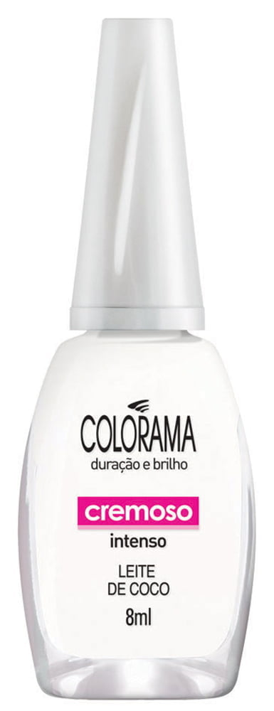 Esmalte Colorama Leite de Coco