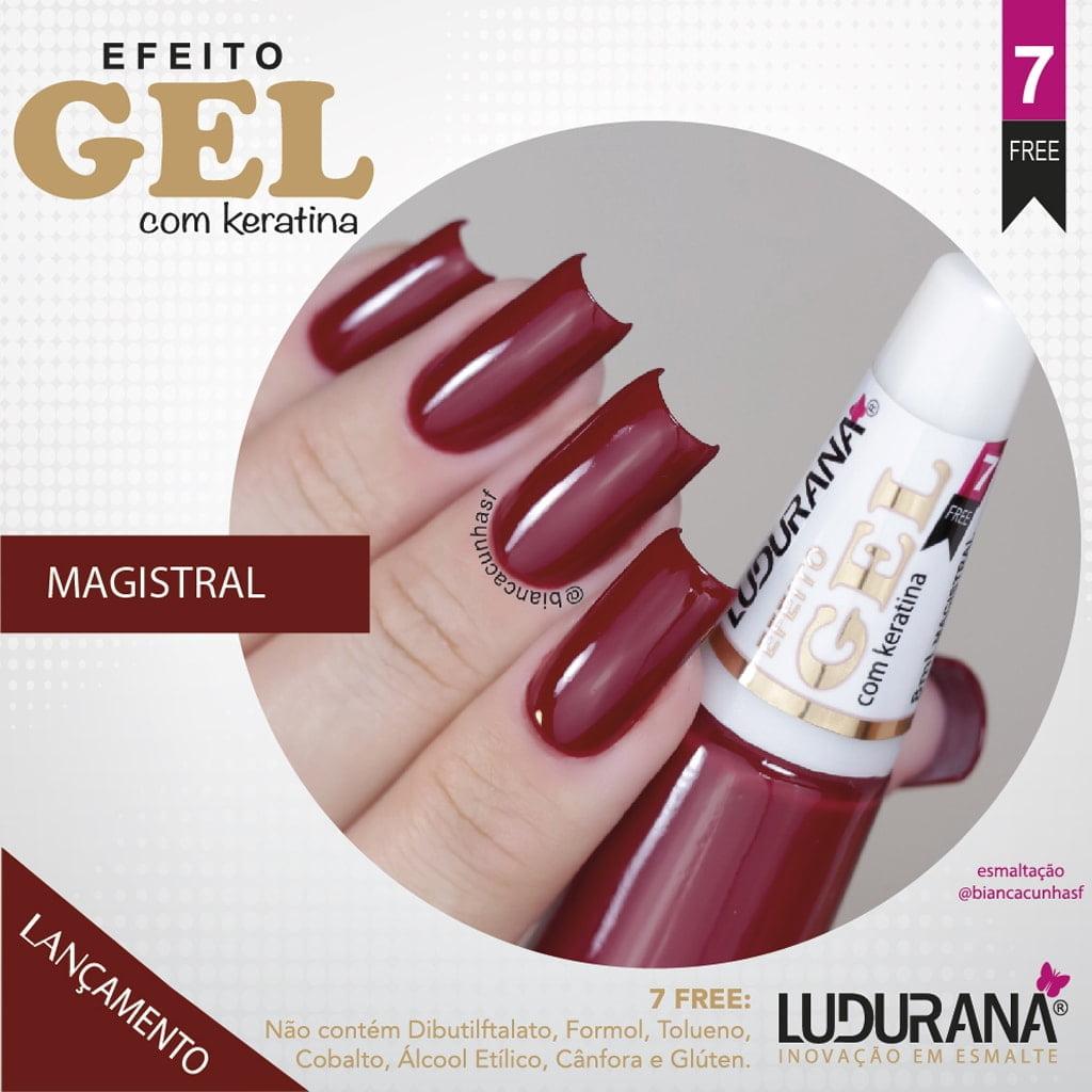 Esmalte Ludurana Efeito Gel Magistal