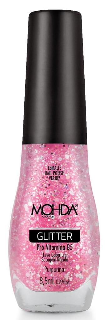 Esmalte Mohda Glitter Purpurina