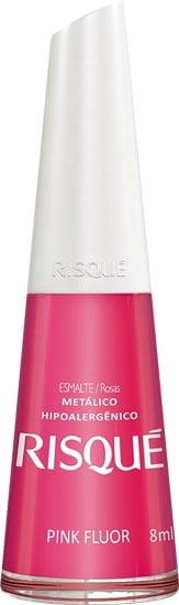 Esmalte Risque Pink Fluor