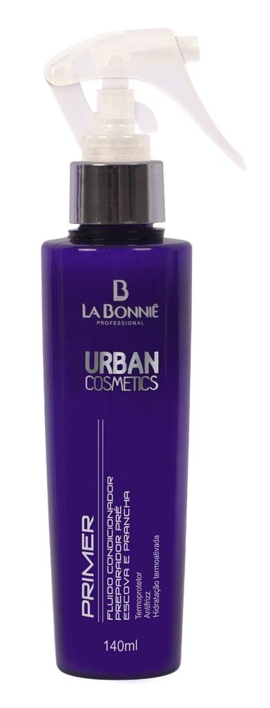 Fluido Pré Escova e Prancha La Bonniê Urban Cosmetics 150ml Prime