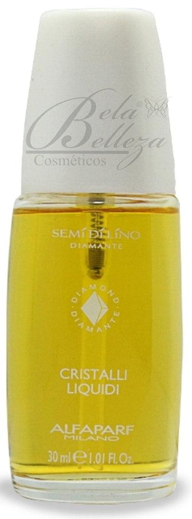 Óleo Capilar Semi di Lino Diamante Alfaparf 30ml Cristalli Liquidi
