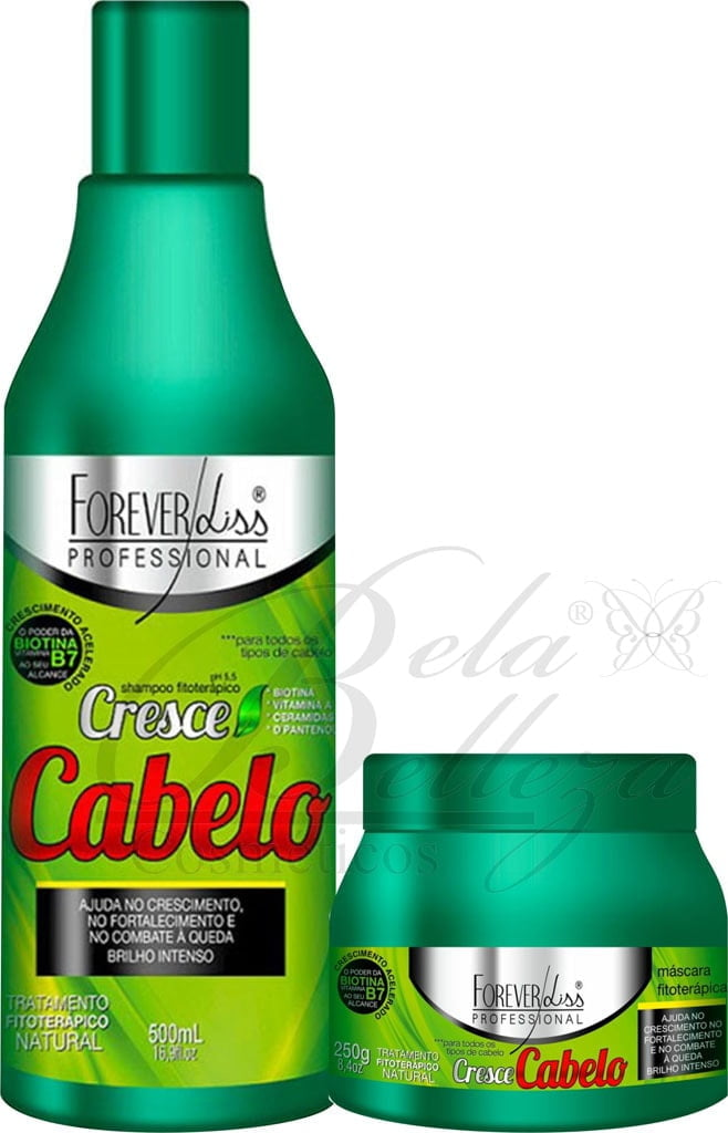 Cresce Cabelo Forever Liss Duo (500ml + 250g)