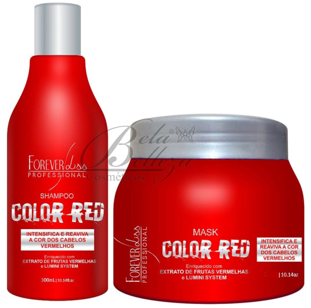 Kit Matizador Color Red Forever Liss
