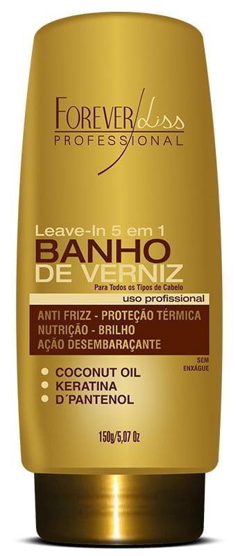 Leave in Banho de Verniz Forever Liss 150g