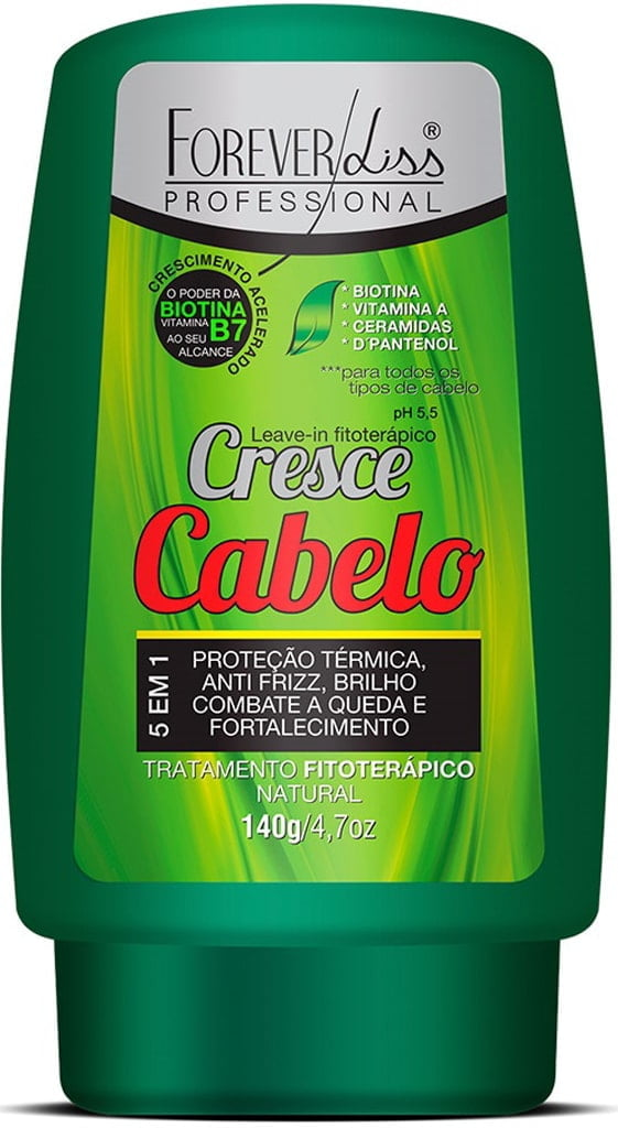 Leave in Cresce Cabelo Forever Liss 140g