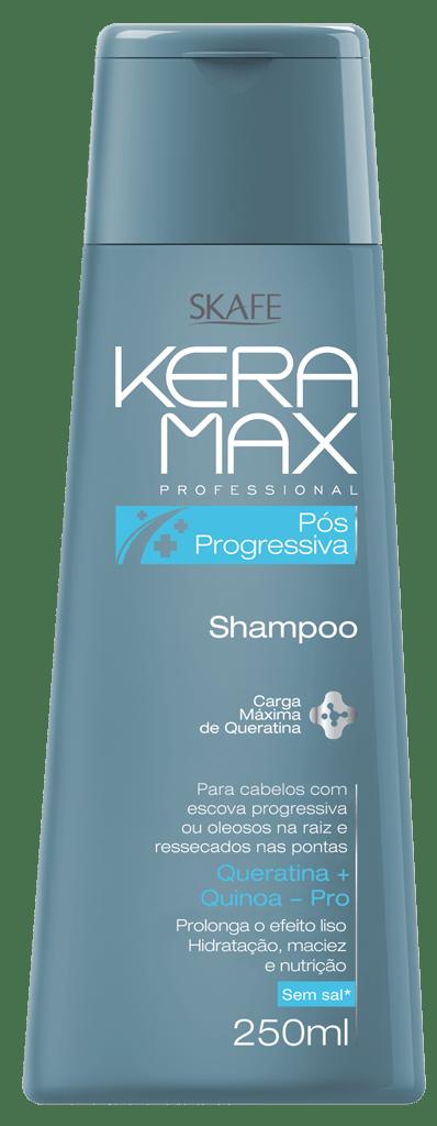 Shampoo Keramax Skafe 250ml Pós Progressiva