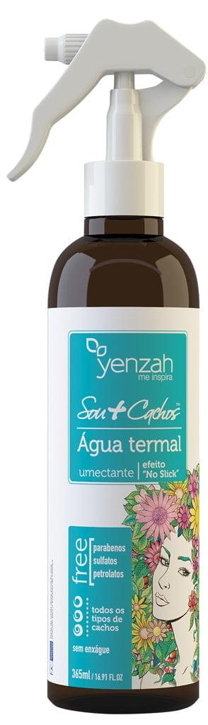 Água Termal Sou + Cachos Yenzah 365ml Efeito No Slick