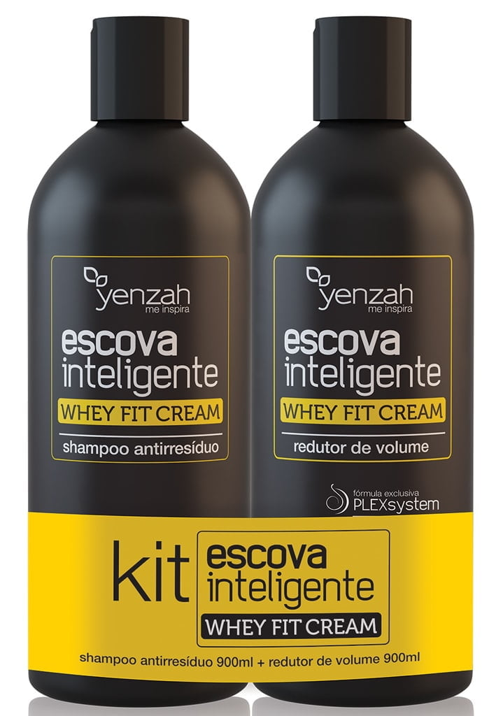 Escova Inteligente Yenzah Whey Fit Cream
