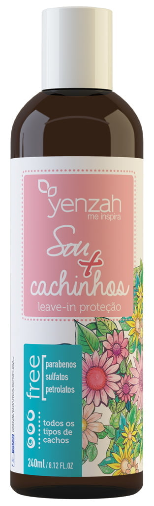 Leave in Sou + Cachinhos Yenzah 240ml Infantil