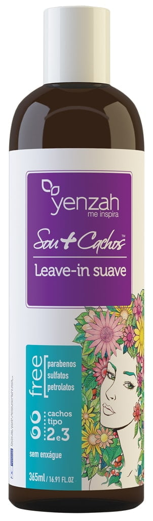 Leave in Sou + Cachos Yenzah 365ml Suave