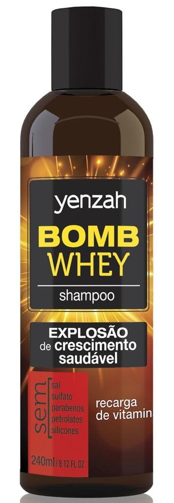 Shampoo Bomb Whey Yenzah 200ml Crescimento Saudável