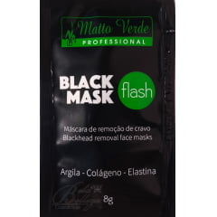 Máscara Preta Removedora de Cravos Matto Verde Black Mask (24un x 8g)