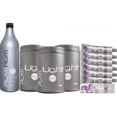 Kit Coloração Platinum Felithi com 10 produtos
