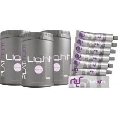 Kit Coloração Platinum Felithi com 9 produtos