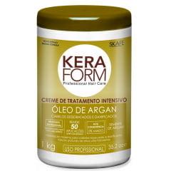 Máscara de Tratamento Intensivo Keraform Skafe 1kg Oleo de Argan