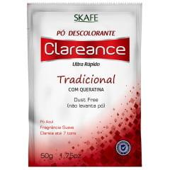 Pó Descolorante Clareance Skafe 50g Ultra Rápido Queratina