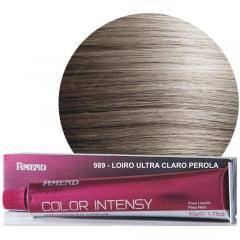 Tinta Amend Color Intensy 50g 989 Louro Ultra Claro Perola