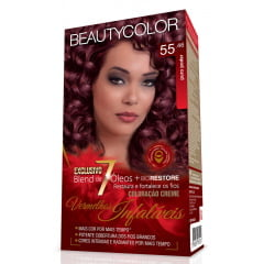 Tinta Beauty Color Vermelhos Infalíveis Kit 55.46 Puro Poder