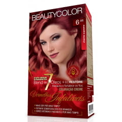 Tinta Beauty Color Vermelhos Infalíveis Kit 6.66 Charme Supremo
