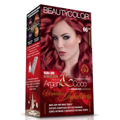 Tinta Beauty Color Vermelhos Infaliveis Kit 66.46 Chama Provocante