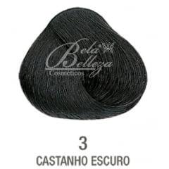 Tinta Evolution Alfaparf 60ml 3 Castanho Escuro