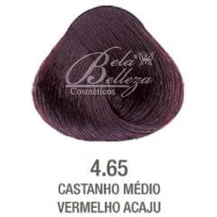 Tinta Evolution Alfaparf 60ml 4.65 Castanho Medio Vermelho Acaju