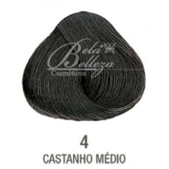 Tinta Evolution Alfaparf 60ml 4 Castanho Médio