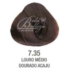 Tonalizante ColorWear Alfaparf 60ml 7.35 Louro Medio Dourado Acaju