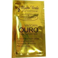 Máscara Ouro Super Nutrição Matto Verde 8g Argila Dourada