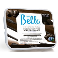 Cera Depil Bella Quente 1Kg Dark Chocolate