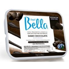 Cera Depil Bella Quente 1Kg Dark Chocolate