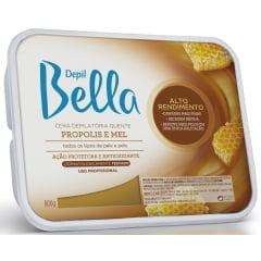 Cera Depil Bella 800g Própolis com Mel