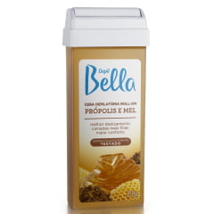 Cera Depil Bella Roll-on 100g Própolis e Mel