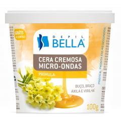 Cera Micro Ondas Depil Bella 100g Prímula