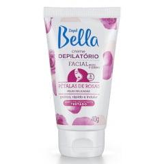 Creme Depilatório Facial Depil Bella 40g Pétalas de Rosas