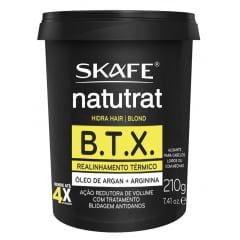 Botox Btx Natutrat Skafe 210g Blond Realinhamento Térmico