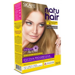 Escova Progressiva Hatuhair Skafe 350g Blond