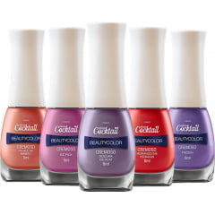 Coleção de Esmaltes Beauty Color Cocktail